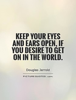 KEEP YOUR EYES 