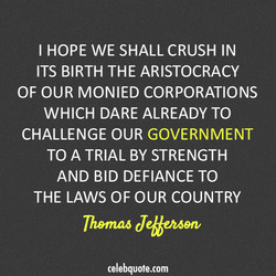 I HOPE WE SHALL CRUSH IN 