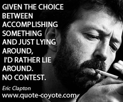GIVEN THE CHOICE 