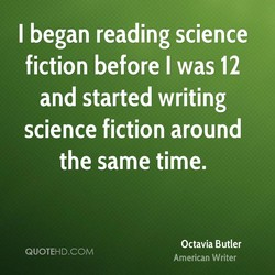 I began reading science 