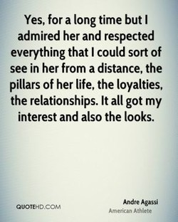 Yes, for a long time but I 