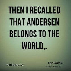 THEN I RECALLED 