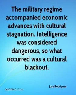 The military regime 