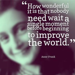 How wonderful 