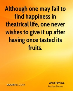 Although one may fail to 