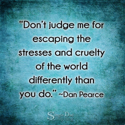 '*Don't judge me for 