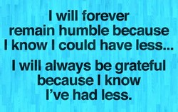 I will forever 