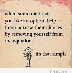 when someone treats 