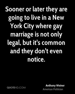 Sooner or later they are 