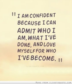 1 AM CONFIDENT 