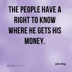 THE PEOPLE HAVE A 