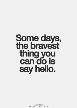 Some days, 