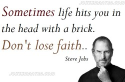 Sometimes life hits you in 