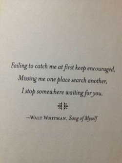 Failing to catch me atfirst keep encoun« 