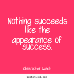 Nothing succeeds 