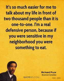 It's so much easier for me to 