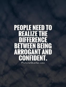 PEOPLE NEED TO 