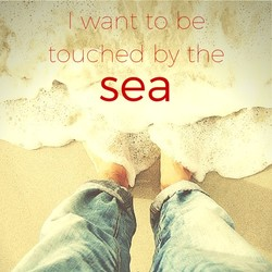 I want to be 