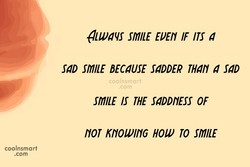 auuqs smilE EVEN IF 4 