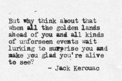 But whv think about that 