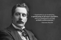 Inspiration is an awakening, 