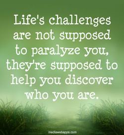 Lifelg challenges 