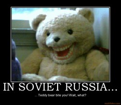 IN SOVIET RUSSIA... 