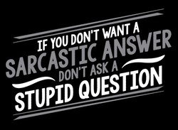 IF DON'T WANT A 