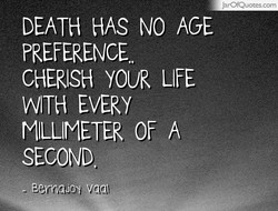 DEATH HAS NO AGE 