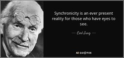 Synchronicity is an ever present 