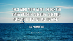 REFRESH AND 