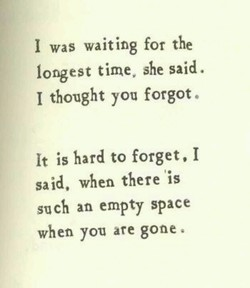 I was waiting for the 