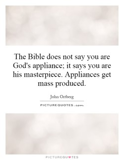 The Bible does not say you are 