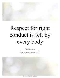 Respect for right 