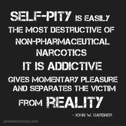 SELF-PITY 