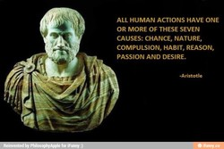 ALL HUMAN ACTIONS HAVE ONE 
