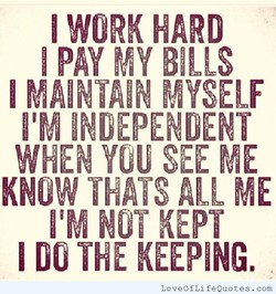I WORK HARD 