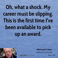 Oh, what a shock. my 