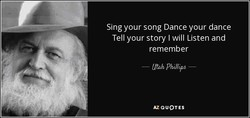 Sing your song Dance your dance 
