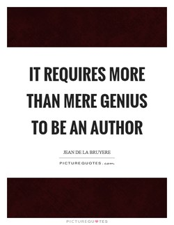 IT REQUIRES MORE 