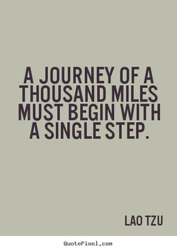 A JOURNEY OF A 