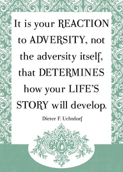 It is your REACTION 