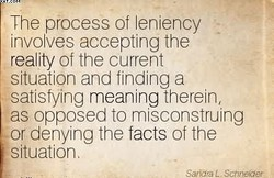 The process of leniency 