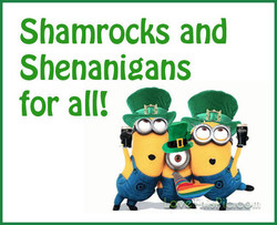 Shamrocks and 