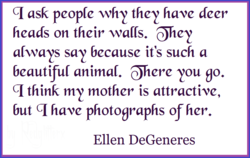 q ask peop(e whet' the•t' deer 