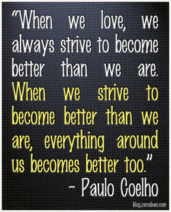 tWhen we love, we 