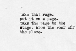 take that, rage. 
