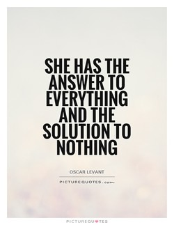 SHE HAS THE 