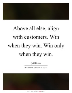Above all else, align 