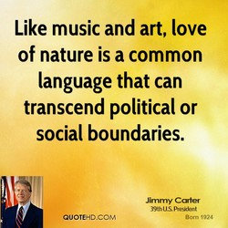 Like music and art, love 